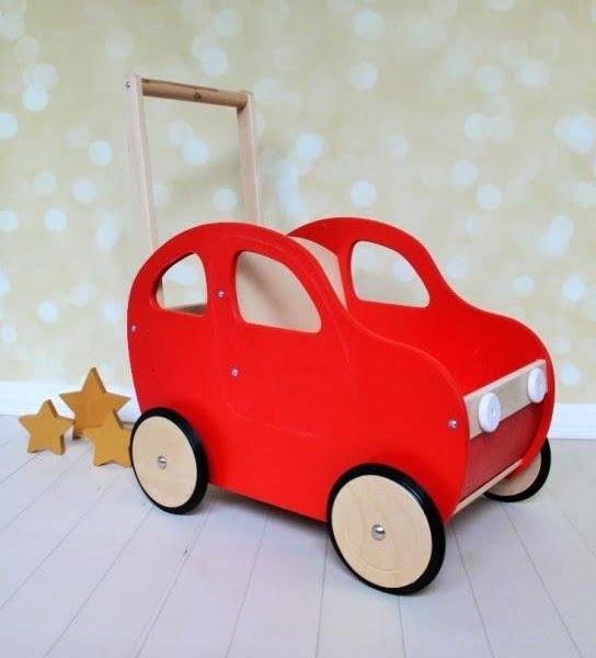 Drevené autíčko