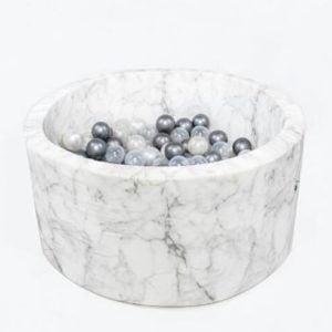 Velvet kolekcia Okrúhly suchý bazén 90x40 + 200 guličiek