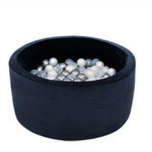 Velvet kolekcia Okrúhly suchý byzén 90x40 + 200 guličiek