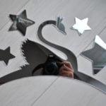 Zrkadlo do detskej izby vešiak