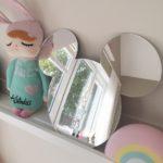 Zrkadlo do detskej izby myška