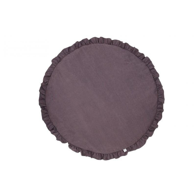 Detská podložka na hranie fialová