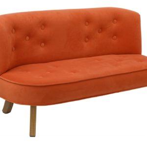 Detská dizajnová sedačka Orange