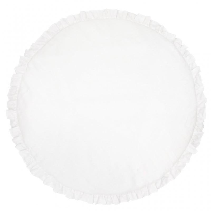 Ľanová podložka PURE NATURE biela