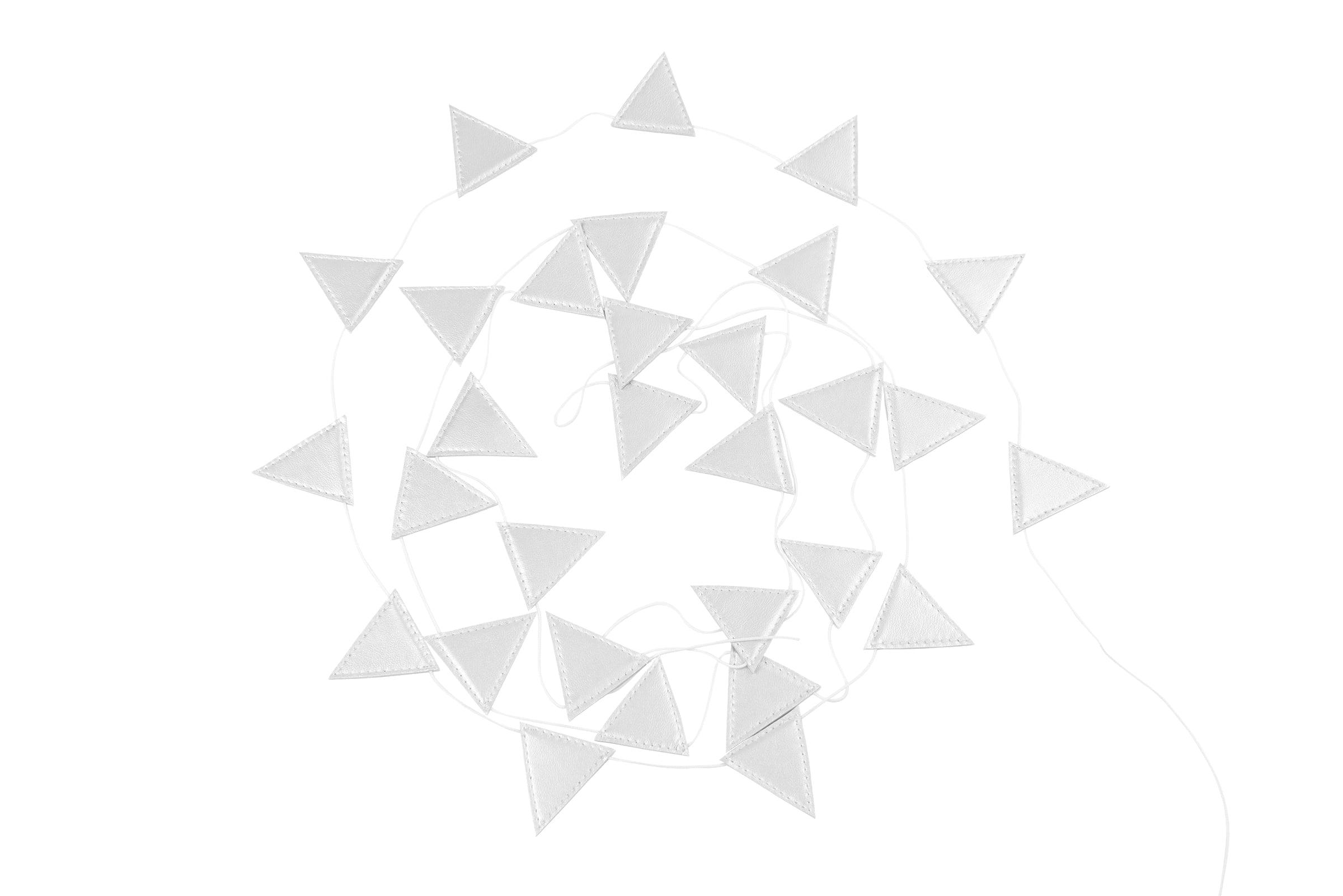 girlanda-trojuholnik-strieborna-dadaboom-sk