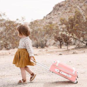 70d5458a5b Cestovný kufor pre deti See-Ya ružový