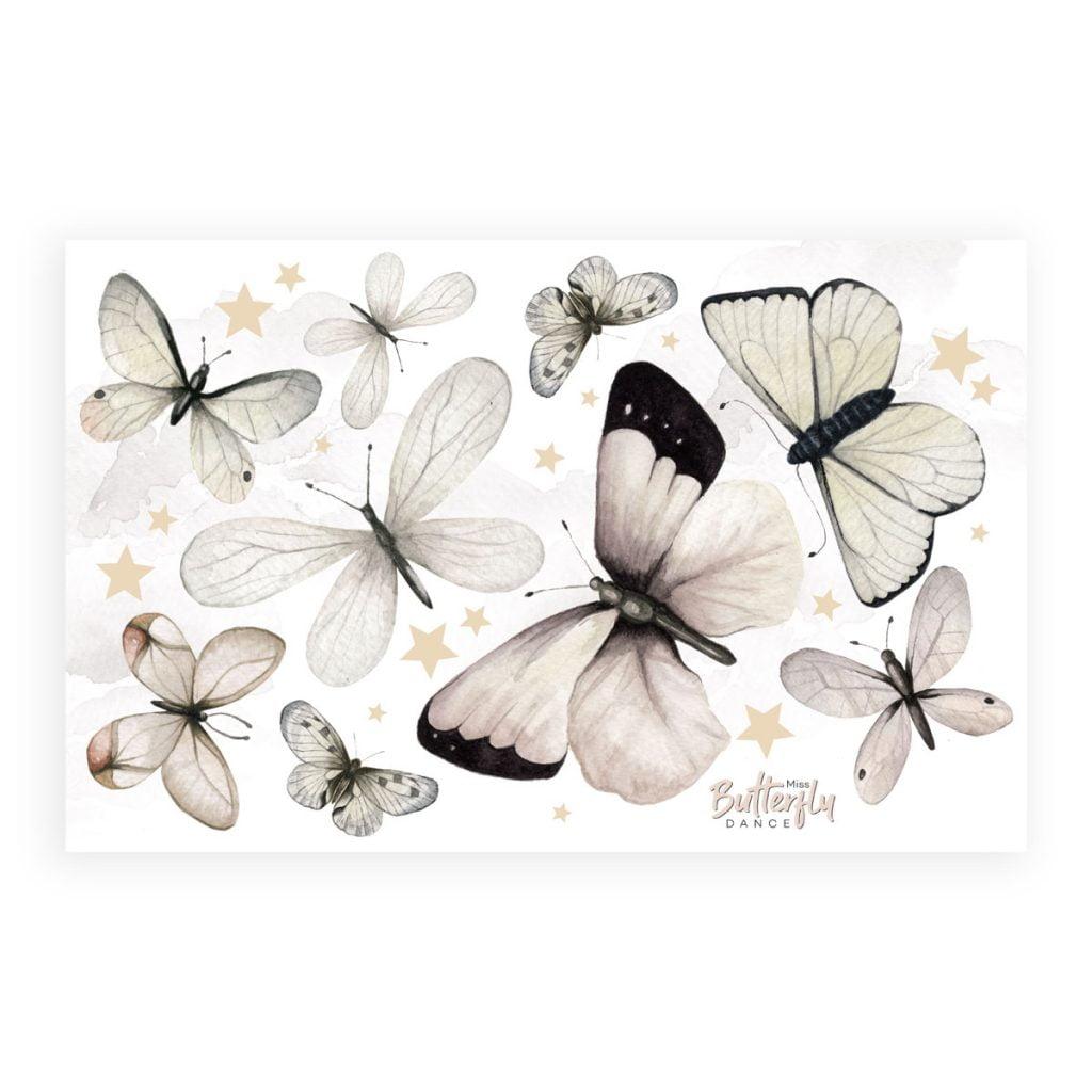 Dadaboom.sk Samolepky -Motýle - L