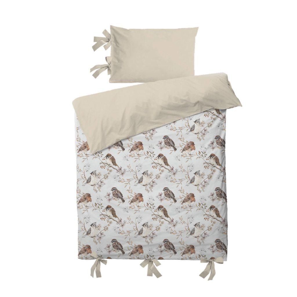 Dadaboom.sk Sada do postele- Vtáčiky